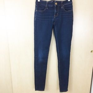 American Eagle Super Stretch Dark Wash Jeggings